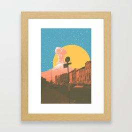 Dusk #1 Framed Art Print