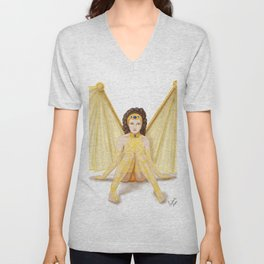 Filigree Fairy Unisex V-Neck