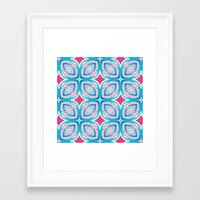 clover Framed Art Prints featuring Clover by Truly Juel