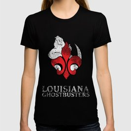 Louisiana Ghostbusters Distressed Logo T-shirt