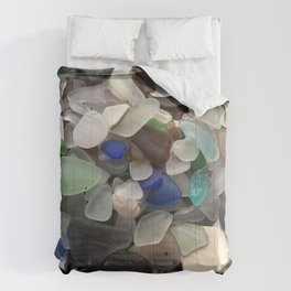 Sea Glass Assortment 1 Comforters