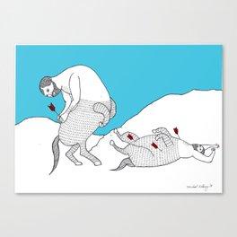 Centaur with Arrows Print Canvas Print