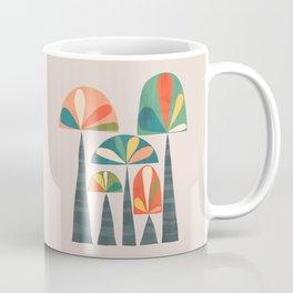 Quirky retro palm trees Coffee Mug