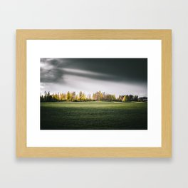 Beautiful Swedish landscape Framed Art Print