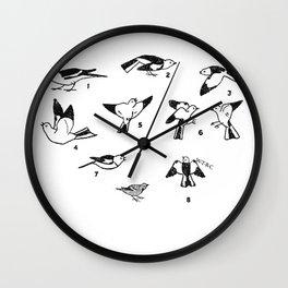 BIRDS Wall Clock
