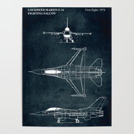 F-16 Fighting Falcon - 1974 Poster