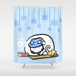SleepyCat Shower Curtain