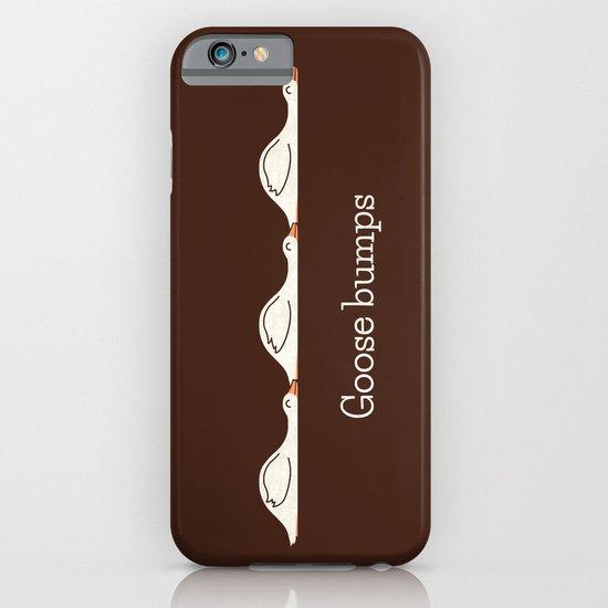 Goose Bumps iPhone & iPod Case