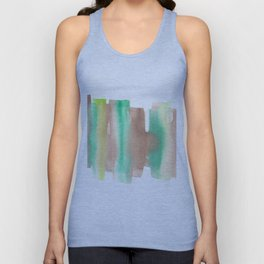 [161228] 10. Abstract Watercolour Color Study Unisex Tank Top
