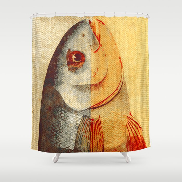 Piscibus 7 Shower Curtain