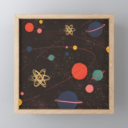 Let's Explore the Galaxy Framed Mini Art Print