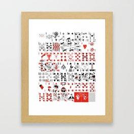 Delicious Deck Framed Art Print