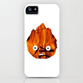 Calcifer Silhouette iPhone Case
