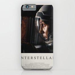 Interstellar (2014) Minimalist Poster iPhone Case