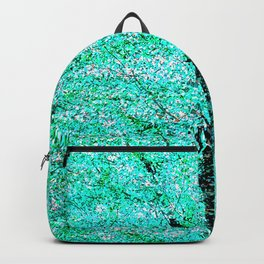 Trees Green Misty Backpack