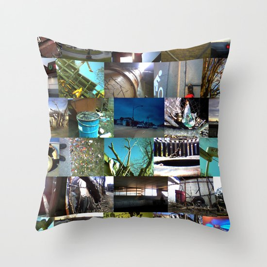 """good kid, m.A.A.d city"" by Cap Blackard Throw Pillow"