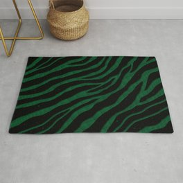 Ripped SpaceTime Stripes - Forest Rug