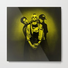 Nirvana - Celebrity Metal Print