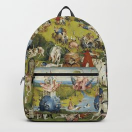 THE GARDEN OF EARTHLY DELIGHT - HEIRONYMUS BOSCH Backpack