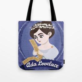 Women in science | Ada Lovelace, mathematician Tote Bag