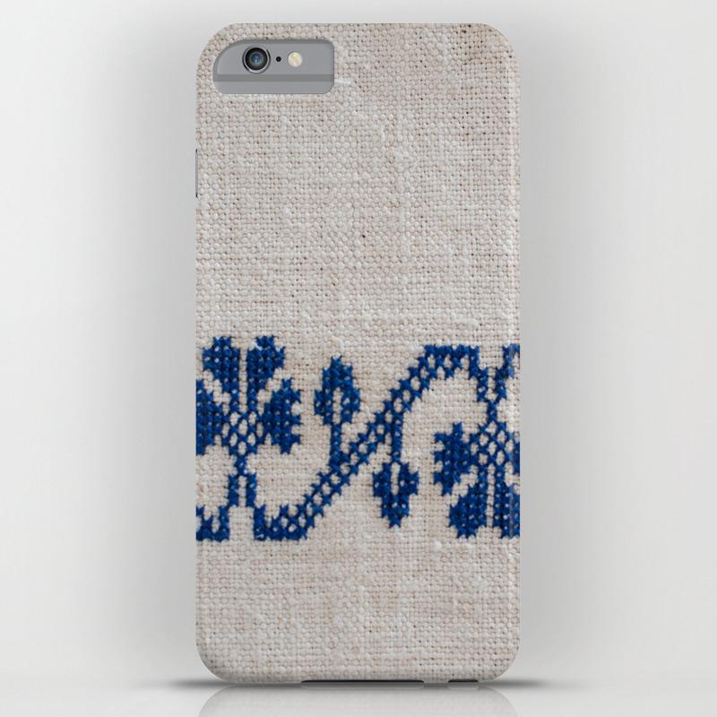 release date 0ec36 5a935 cross-stitch border iPhone Case