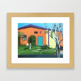 Railroad Square Framed Art Print