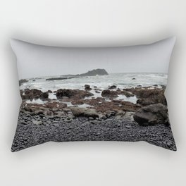 Gray Getaway Rectangular Pillow