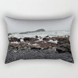 Gray Getaway Rectangular Pillow