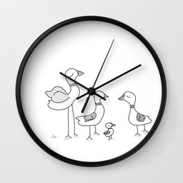 Duck! Wall Clock