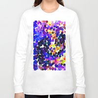 confetti Long Sleeve T-shirts featuring Confetti by Art-Motiva