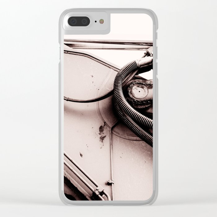 Dig Doug Industry Machine Abstract Clear iPhone Case