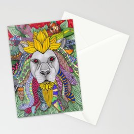 Medusa Lioness Stationery Cards