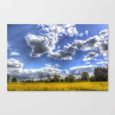 The Summer Field Canvas Print