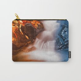 Stream of Fire & Ice Carry-All Pouch