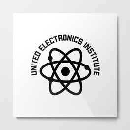 United Electronics Institute Metal Print