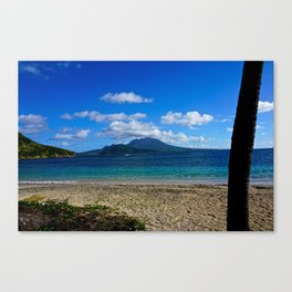 St. Kitts Beach Canvas Print