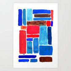 Pools Project Art Print