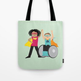 We could be heroes Tote Bag