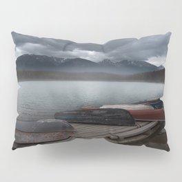 Fog on Patricia Lake Pillow Sham