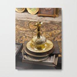 Brass Jug Metal Print