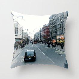 hey taxi taxi  Throw Pillow