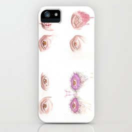 EYES - Mads' characters iPhone Case