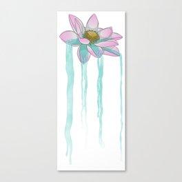 Lotusfall Canvas Print