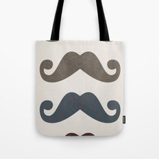 Stache Attack Tote Bag