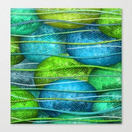 Glass Orbs & Waves Canvas Print