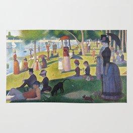 A Sunday on La Grande Jatte by Georges Seurat, 1884 Rug