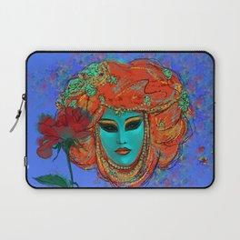 Blue Venice Laptop Sleeve