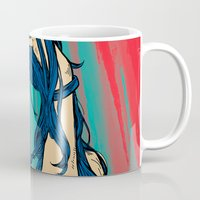 cancer Mugs featuring Cancer by Rendra Sy