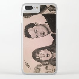 """""""Elevator"""" (Fifty Shades Darker) Clear iPhone Case"""