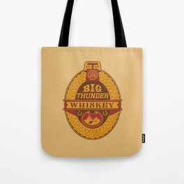 Big Thunder Whiskey Tote Bag
